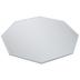 Octagon Beveled Craft Mirror - 12