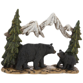 Black Bears In Mountains