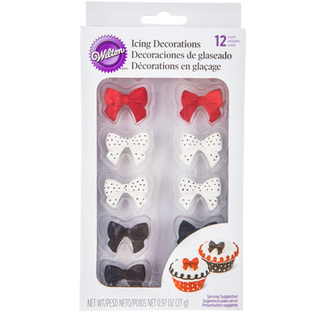 Bow Icing Decorations