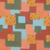 Floral Cottage Patch Cotton Fabric