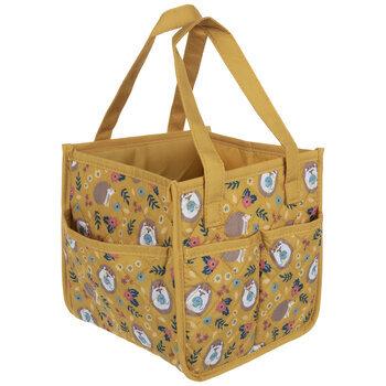 Yellow Hedgehog Tote Bag Organizer
