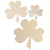 Shamrock Wood Shapes