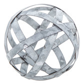 Metal Band Decorative Sphere