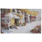 Paris Cafe Canvas Wall Decor