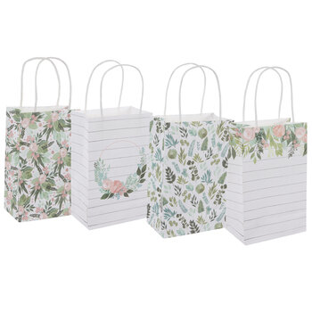 Eucalyptus & Roses Craft Gift Bags