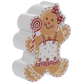 Gingerbread Girl Place Card Holder