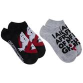 Ghostbusters Low Cut Socks