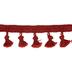 Clay Brush Tassel Trim - 2 3/8