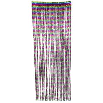 Rainbow Foil Door Curtain