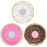 Donut Paper Plates - Small
