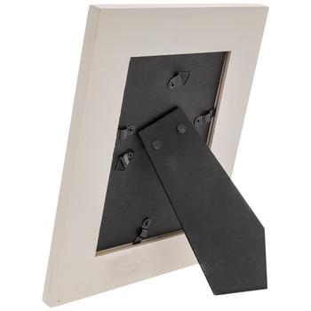 "White Distressed Wood Frame - 4"" x 6"""
