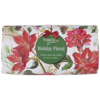Holiday Floral Soap Bar
