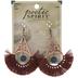 Teardrop Tassel Earrings