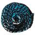 Aqua & Black Print I Love This Yarn