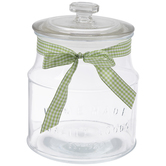 Dolly Parton Homemade Glass Canister