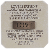 Love Is Patient Decor
