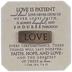 Love Is Patient Decor