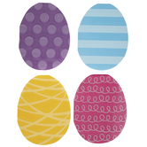 Patterned Easter Egg Napkins