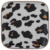 Leopard Square Jewelry Dish