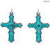 Antique Patina Cross Charms