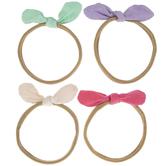 Pink, Green & Purple Knot Headbands