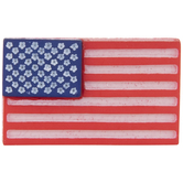 American Flag Shank Buttons