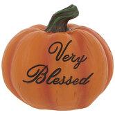 Orange Very Blessed Pumpkin
