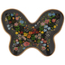 Floral Butterfly Jewelry Dish