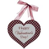 Happy Valentine's Day Wood Wall Decor