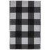 Black & White Buffalo Check Tablecloth