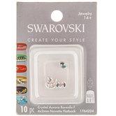 Navette Swarovski Flatback Nail Crystals