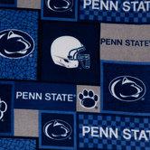 Penn State Block Collegiate Fleece Fabric