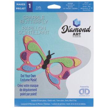 Sparkle Butterfly Mask Diamond Art Kit