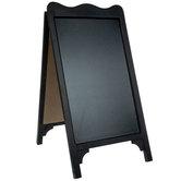 Black Chalkboard Easel