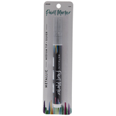 Silver Metallic Medium Tip Paint Marker