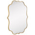 Gold Quatrefoil Wall Mirror
