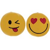 Heart Eyes & Winking Emoji Beach Balls