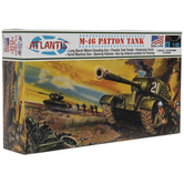 M-46 Patton Tank Model Kit