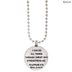 I Can Do All Things Football Necklace