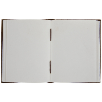 Brown Stitched Leather Sketchbook