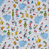 Dr Seuss Character Cotton Fabric