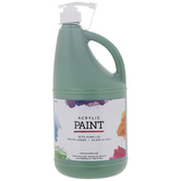 Acrylic Paint With Pump Lid
