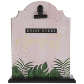 Enjoy Every Moment Wood Clipboard