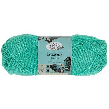 Turquoise Yarn Bee Mimosa Yarn