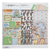 Little Safari Scrapbook Kit