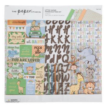 Little Safari Scrapbook Kit