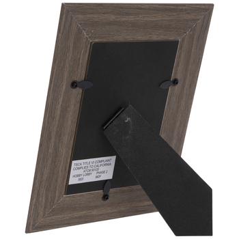 Angled Fillet Wood Look Frame