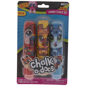 Pets Jumbo Chalk-A-Doos