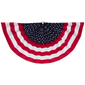 Stars & Stripes Velvet Flocked Bunting