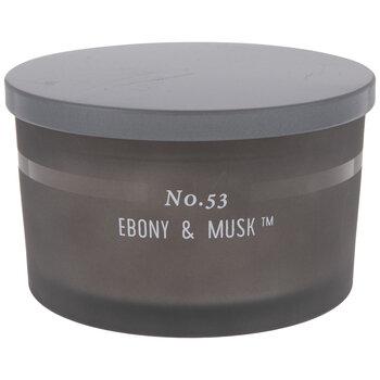 Ebony & Musk Jar Candle